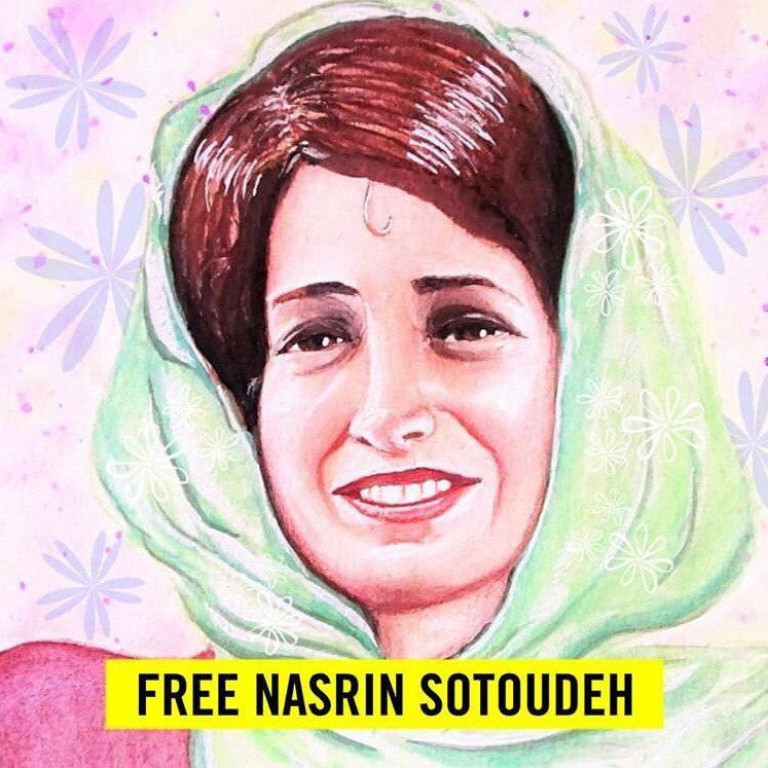 دادخواست لغو فوری حکم ناعادلانه ۳۸ سال زندان صادر شده برای نسرین ستوده