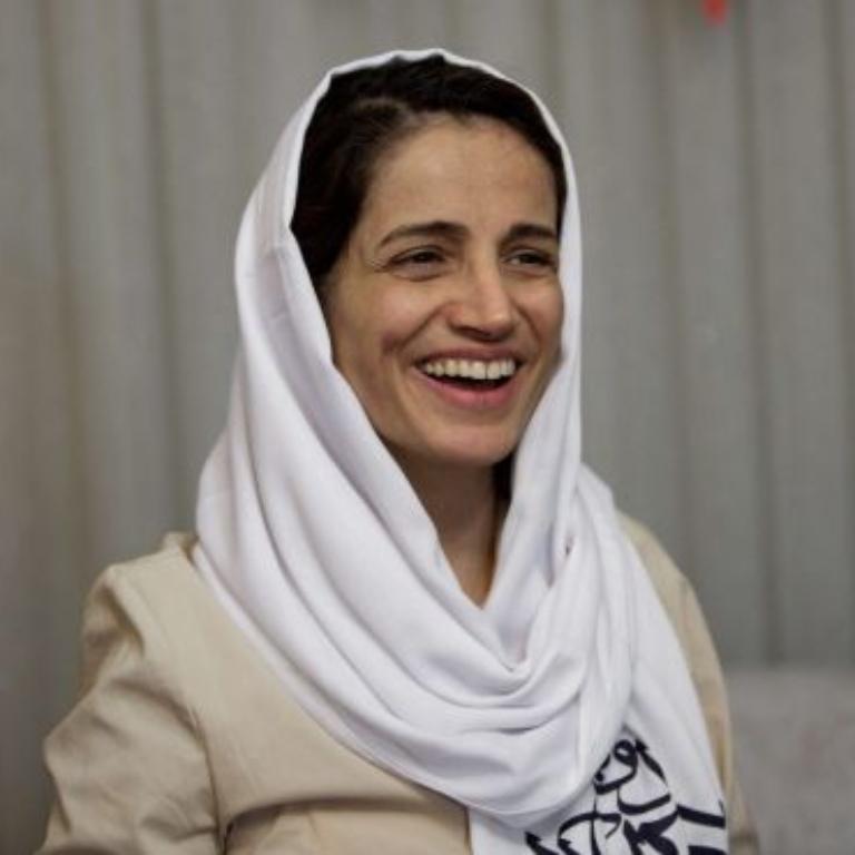 سازمان عفو بینالملل: برای درخواست آزادی نسرین ستوده به ابراهیم رئیسی نامه بنویسیم