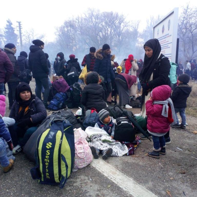 برای احقاق حقوق پناهجویان ساکن ترکیه و گیرافتاده در مرز با یونان کاری بکنید