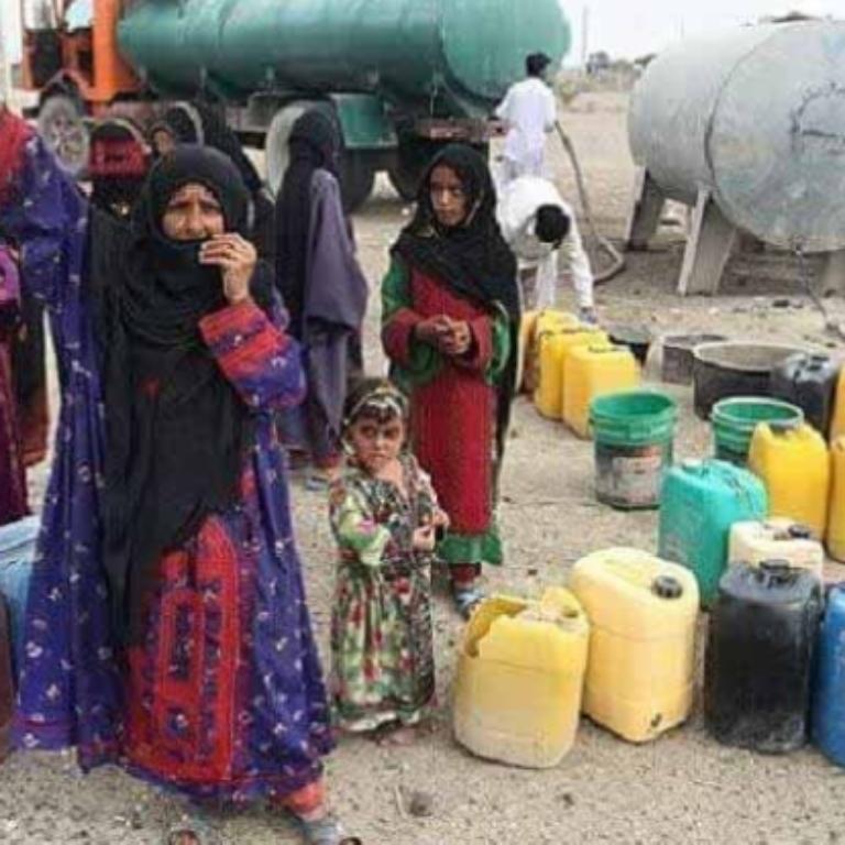 طغیان بی مسوولیتی و بی آبی در بلوچستان
