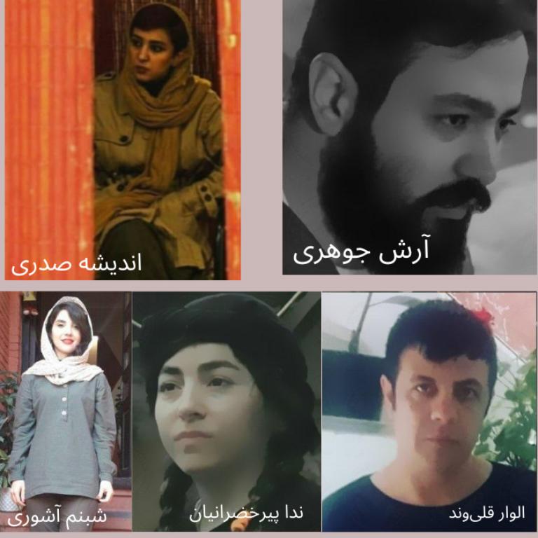 بازداشت بیدلیل ۶ کنشگر و بیخبری از آنها